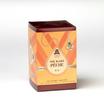 White Tea Peach Organic - 15 teabags