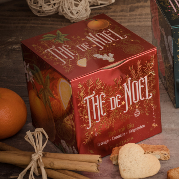 Thé de Noël Orange Cannelle Gingembre bio - 24 sachets